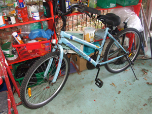 bike in garae