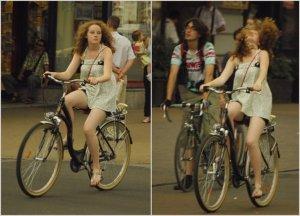 Nice bike girl