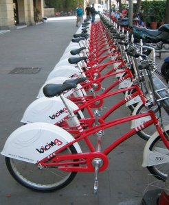 Bike share barcelona